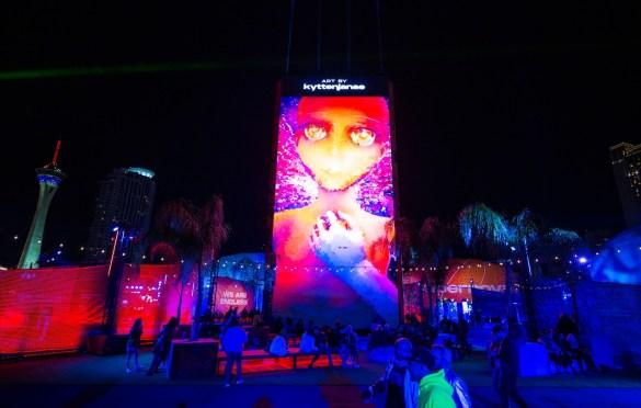 Intersect Music Festival @ Las Vegas Festival Grounds 12/7/19. Photo by Derrick K. Lee, Esq. (@Methodman13) for www.BlurredCulture.com.