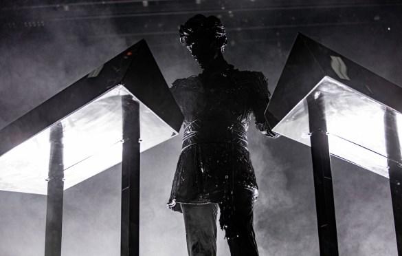 Gesaffelstein @ Intersect Music Festival 12/6/19. Photo by Derrick K. Lee, Esq. (@Methodman13) for www.BlurredCulture.com.
