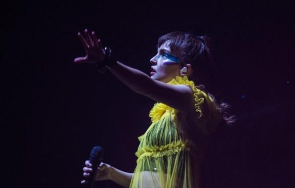 Chvrches @ Intersect Music Festival 12/6/19. Photo by Derrick K. Lee, Esq. (@Methodman13) for www.BlurredCulture.com.