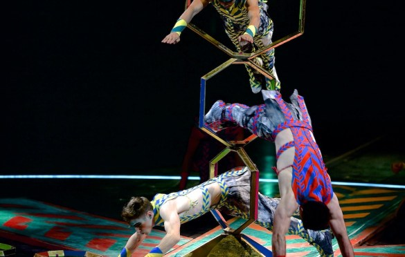 Volta. Photo by Michael_Kass. Costumes by Zaldy. Courtesy of Cirque Du Soleil. Used with permission.