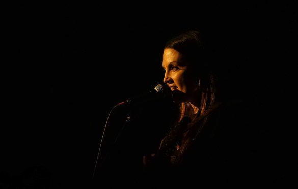 Natalie Hemby  @ Bootleg Theater 1/25/20. Photo by Nina Raj (@NinaRaj). Used with permission.