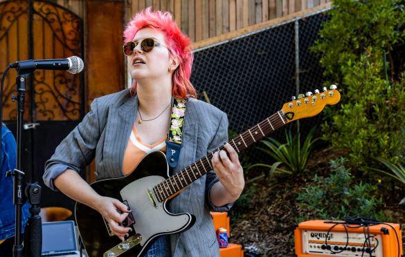 Caroline Kingsbury @ Pirate Studios 6/26/21. Photo by Derrick K. Lee, Esq. (@Methodman13) for www.BlurredCulture.com.