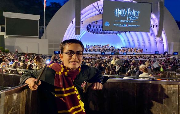 Harry Potter & The Half Blood Prince In Concert w/ Hollywood Bowl Orchestra conducted by Justin Freer @ Hollywood Bowl 9/17/21. Photo by Rose Di Benedetto (@ radgeekyrose) for www.BlurredCulture.com.
