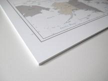 forex print corner edge push pin map