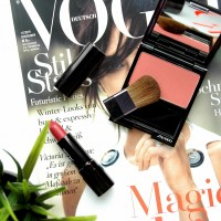 Shiseido Luminizing Satin Face Colour Tea Rose & Perfect Rouge Salon