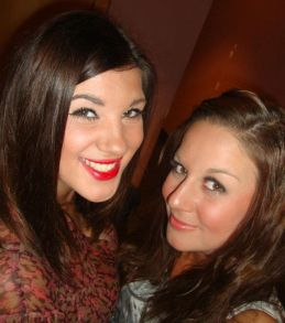 Gemma, left, 21