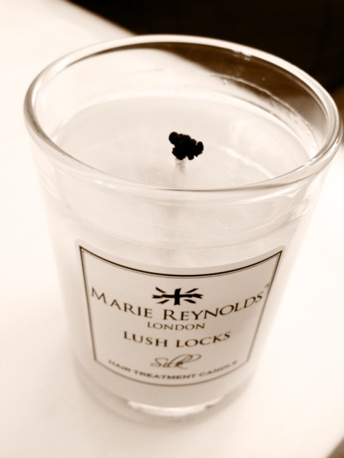 Marie Reynolds Lush Locks Candle