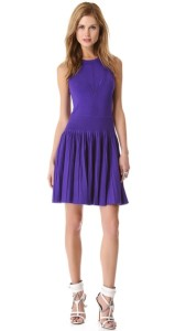 Milly Pleated Dress 'Josephine'
