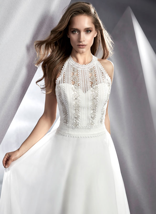 Bella-ModecaBlushing Bridal Boutique -lace tulle-haute couture-illusion-bridal-wedding-wedding gown-Mississauga-woodbridge-vaughan-toronto-gta-ontario-canada