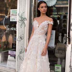Blushing Bridal Boutique ,MillaNova, Gloria, Blooming London, New Collection 2019 ,l-wedding-wedding gown-Mississauga-woodbridge-vaughan-toronto-gta-ontario-canada-montreal-buffalo-NYC-california