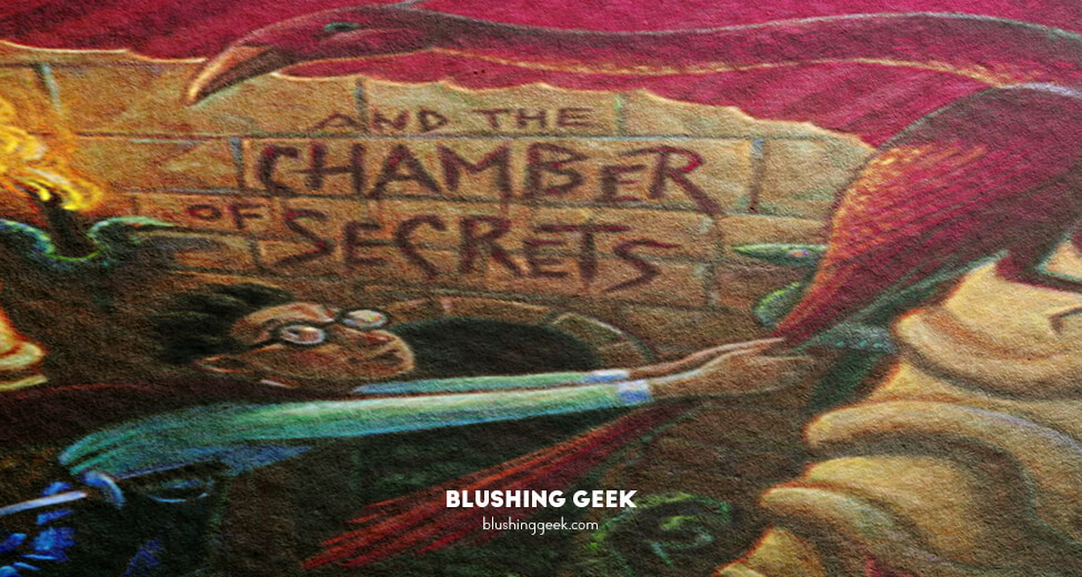 Book Review - Harry Potter and The Chambers of Secrets by J.K. Rowling | Blushing Geek