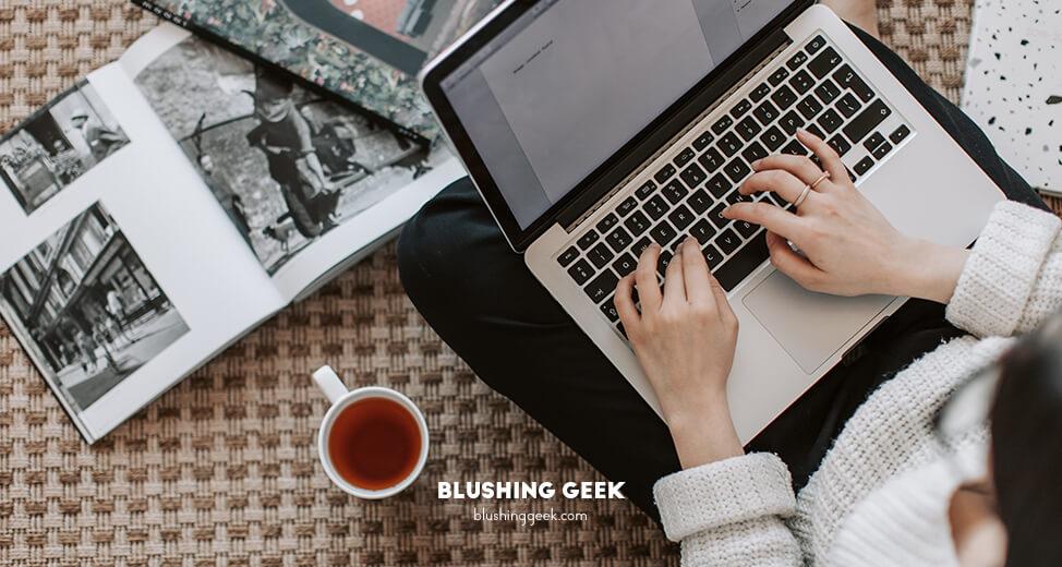 Work With Me | Blushing Geek