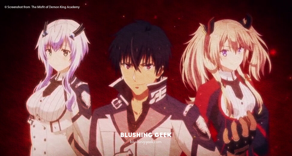 Anime Review - The Misfit of Demon King Academy | Blushing Geek