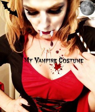 My Vampire Costume and How I Made My Boobs Appear Larger