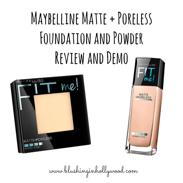 Maybelline Matte and Poreless Review