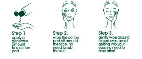 How to use Micellar Water from the Simple website
