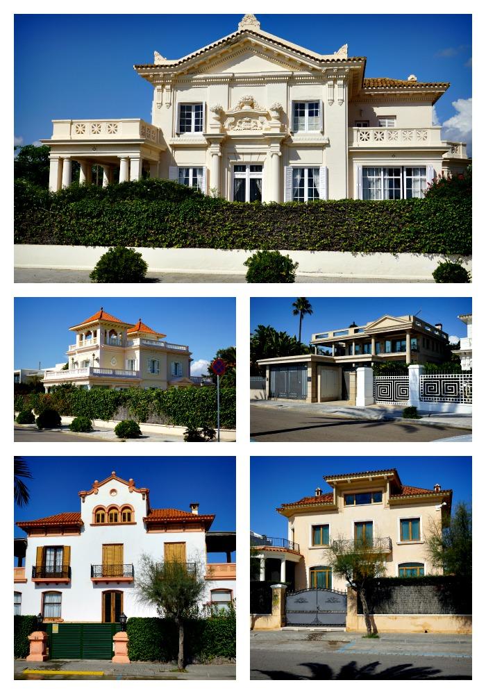 Houses in Sitges Spain