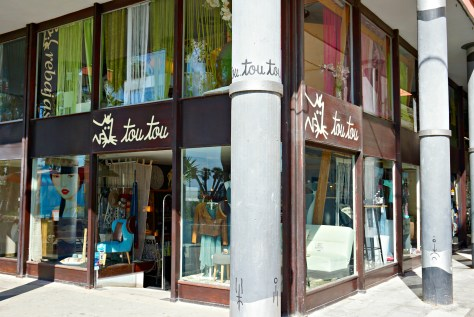 Tou Tou store in Sitges Spain
