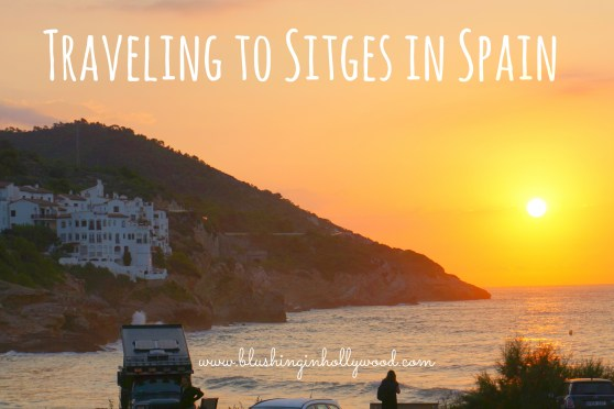 Traveling from the Barcelona Airport to Sitges Spain