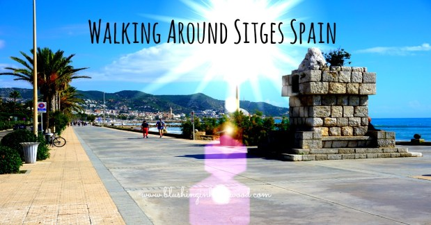 Sitges is a beautiful beach town 30 minutes outside of Barcelona in Spain