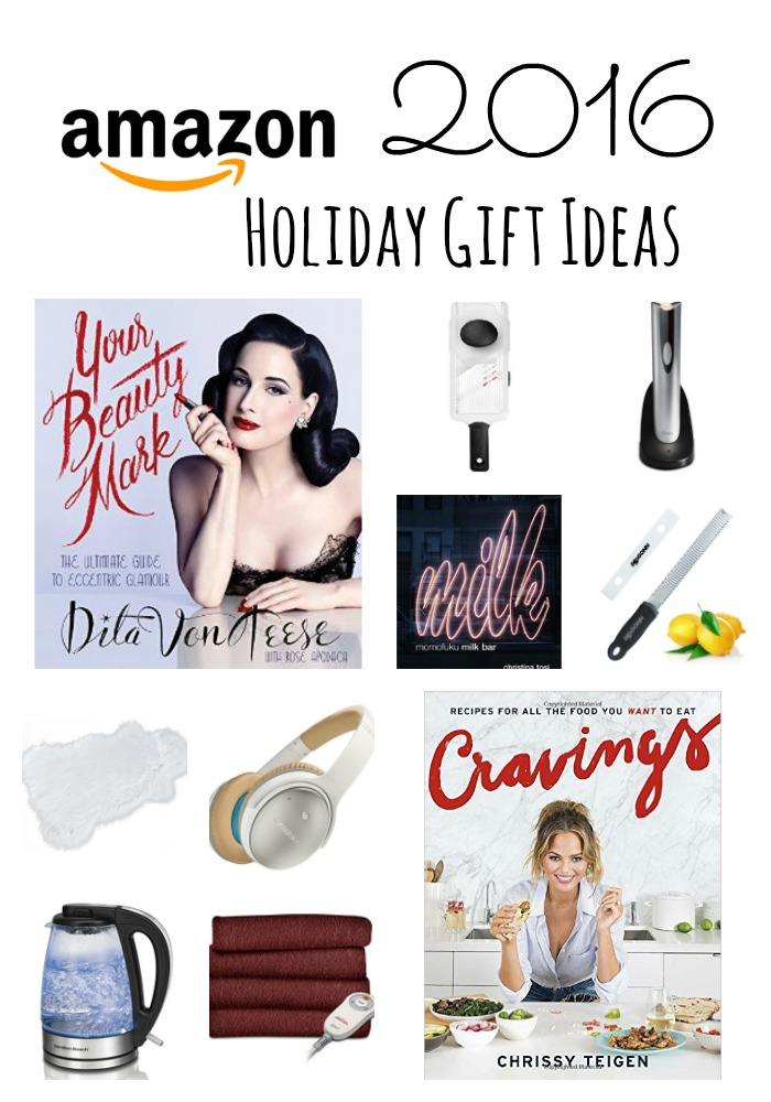 Amazon Holiday Gift Ideas 2016