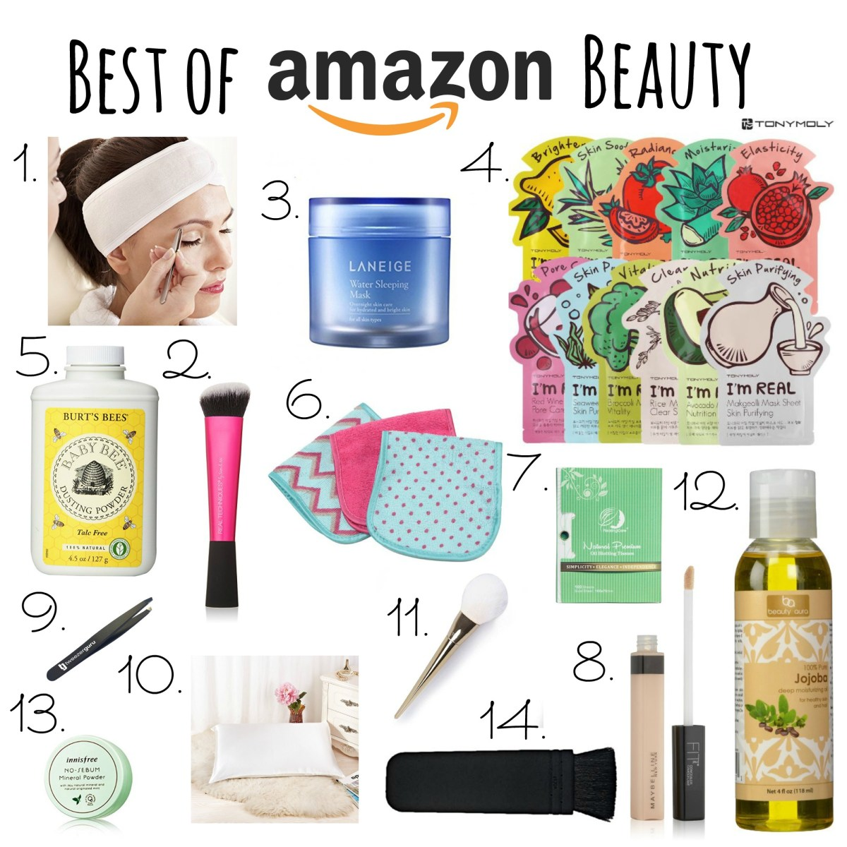 Amazon Beauty Favorites