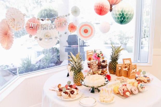 tropical-bridal-shower-dessert-bar