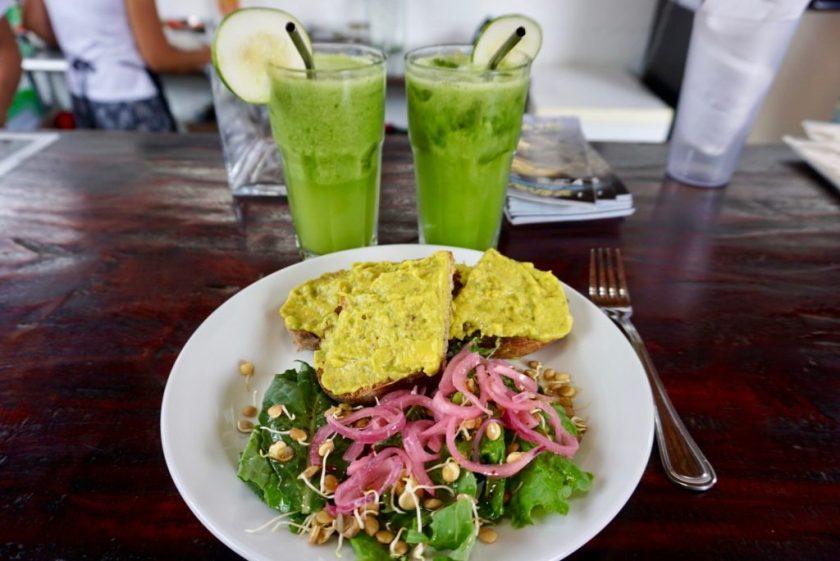 avocado-toast-green-juice-buddhas-garden-zen-yoga-nicaragua