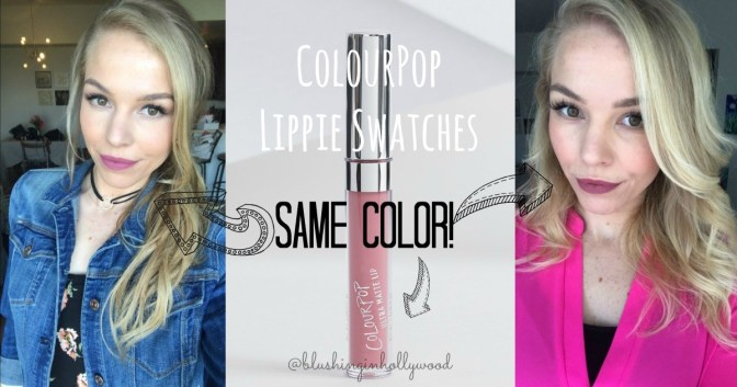ColourPop is Coming to Sephora Red and Pink Lippie Swatches and Reviews