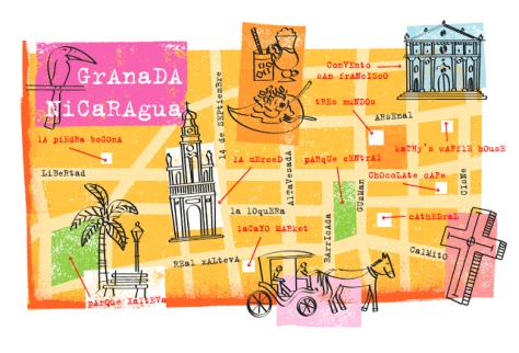 granada-nicaragua-map