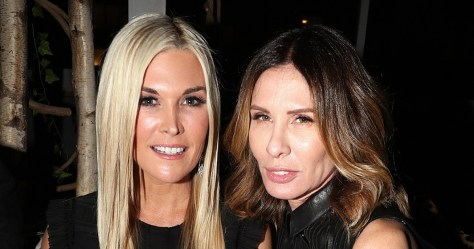 Tinsley Mortimer with her friend and Real Housewives of New York City co-star Carole Radziwell