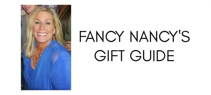 Fancy Nancy's Holiday Gift Guide