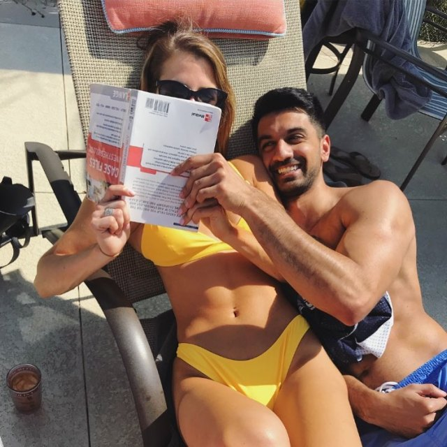 Naomi Olindo of Southern Charm and new boyfriend Metul Shah