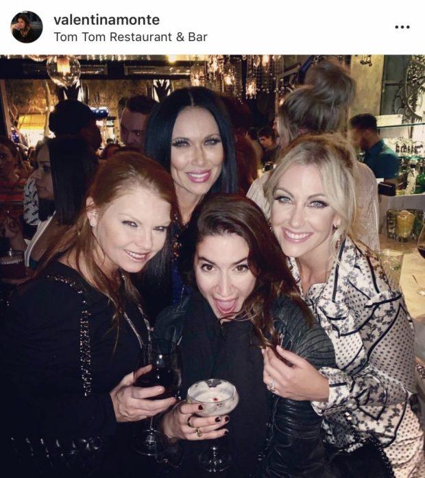 Brandi Redmond, Leeanne Locken, and Stephanie Hollman at Tom Tom in Los Angeles