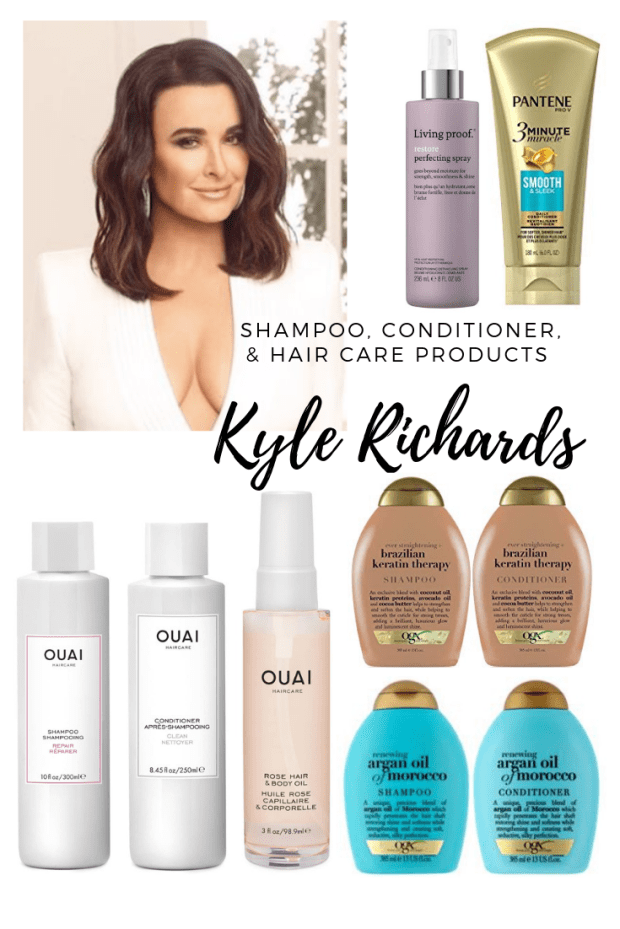 Kyle Richard's Shampoo, Conditioner, & Hair Care Products