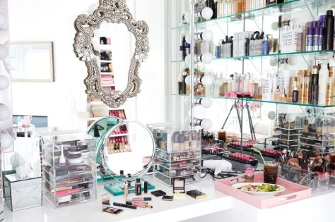 Lisa Vanderpump's Makeup Vanity