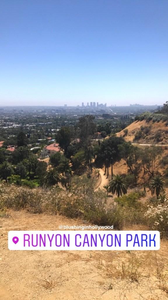 Runyon Canyon Park in Hollywood, California