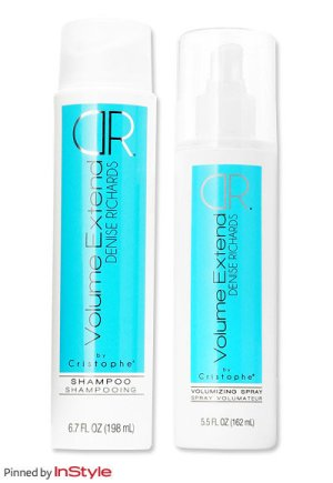 Denise Richards Shampoo and Conditioner. Photo: InStyle.com