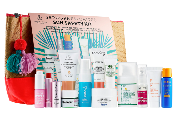 Sephora Sun Safety Kit 2019