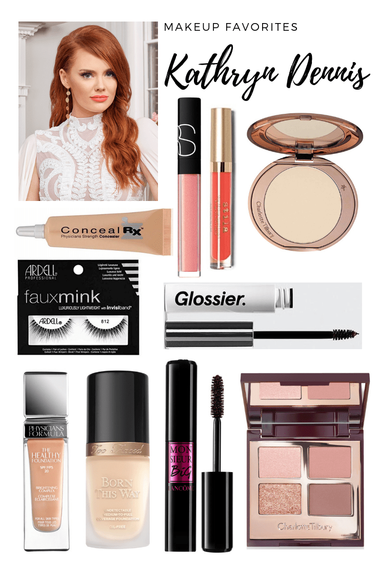 Kathryn Calhoun Dennis of Southern Charm's makeup for the Southern Charm Bravo Promo photos