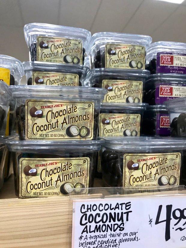 Trader Joe's Chocolate Coconut Almonds