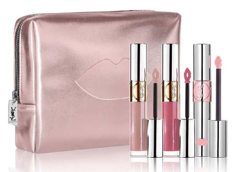 Yves Saint Laurent Pink Lip Trio