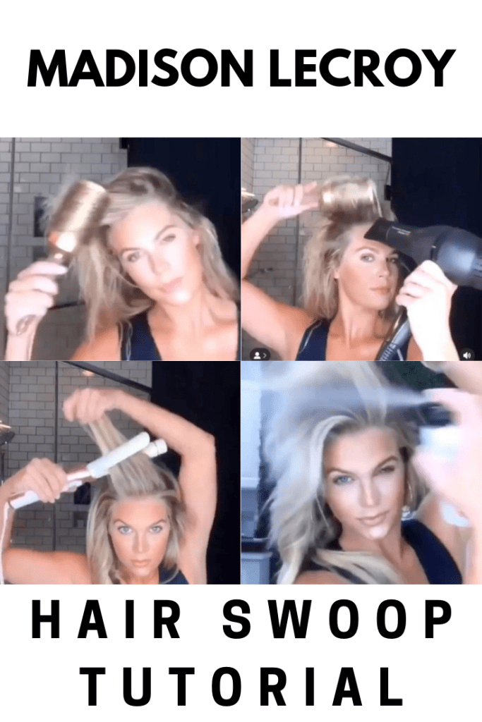 Madison Lecroy hair video tutorial