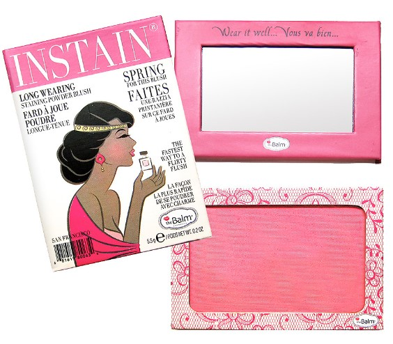 theBalm INSTAIN Long-Wearing Powder Staining in Blush Lace