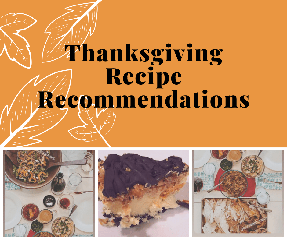 Thanksgiving Recipe Recommendations 2019