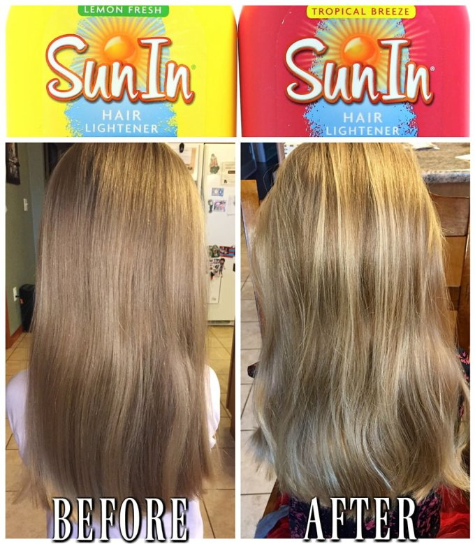 How To Use Sun In Hair Lightener For Highlights Hairsjdi