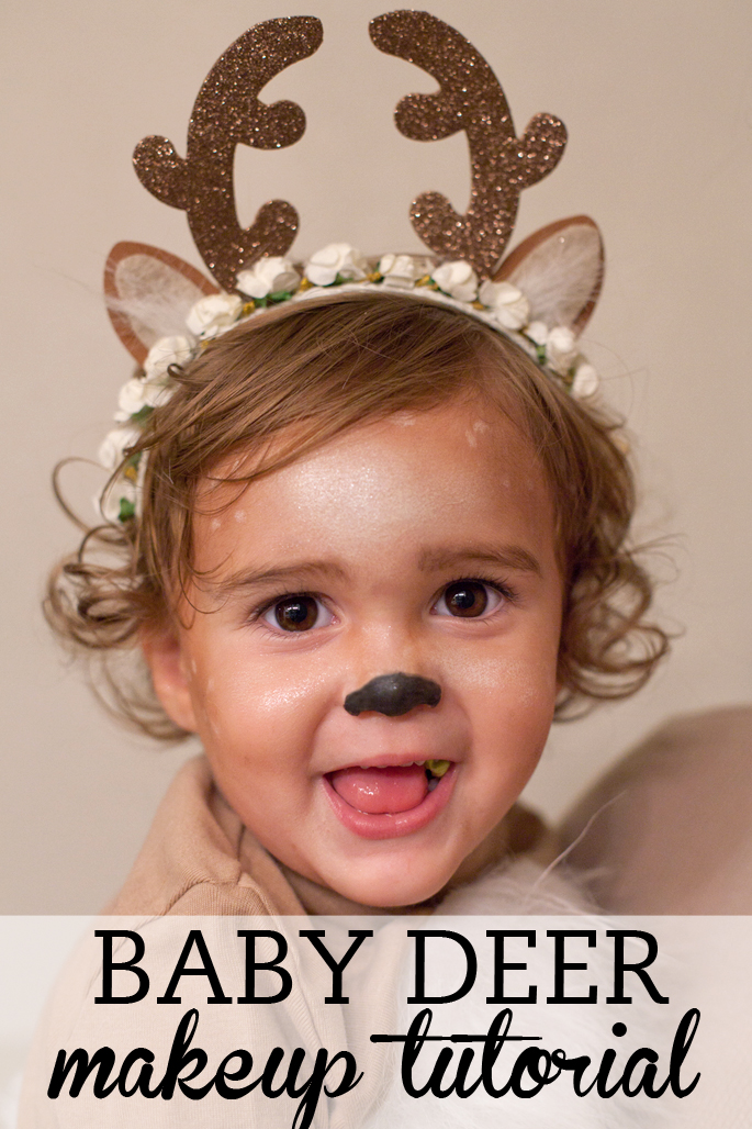 Baby Deer Makeup Tutorial
