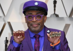 Spike Lee on the Oscars Red Carpet