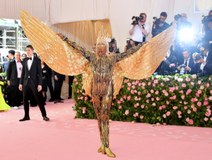 Billy Porter wearing The Blonds