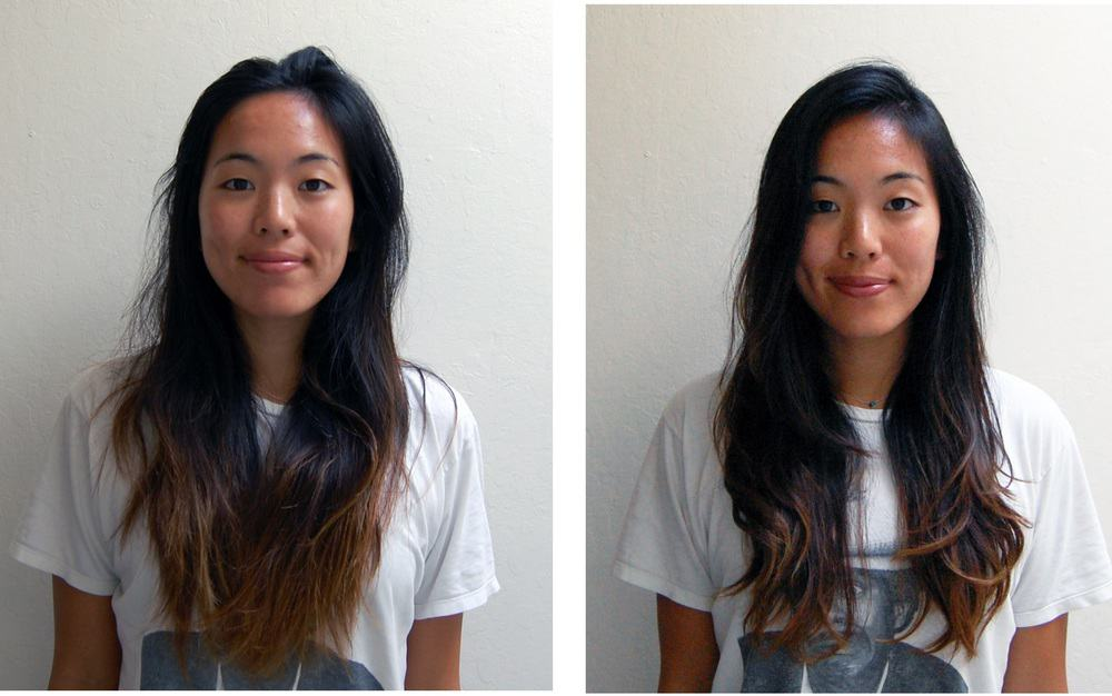 How To Cut Hair A Diy Layered Haircut For Long Hairs